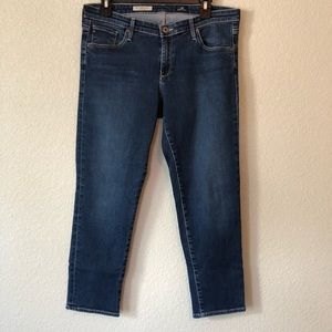 AG The Stilt Crop Cigarette Crop Jean Size 32R